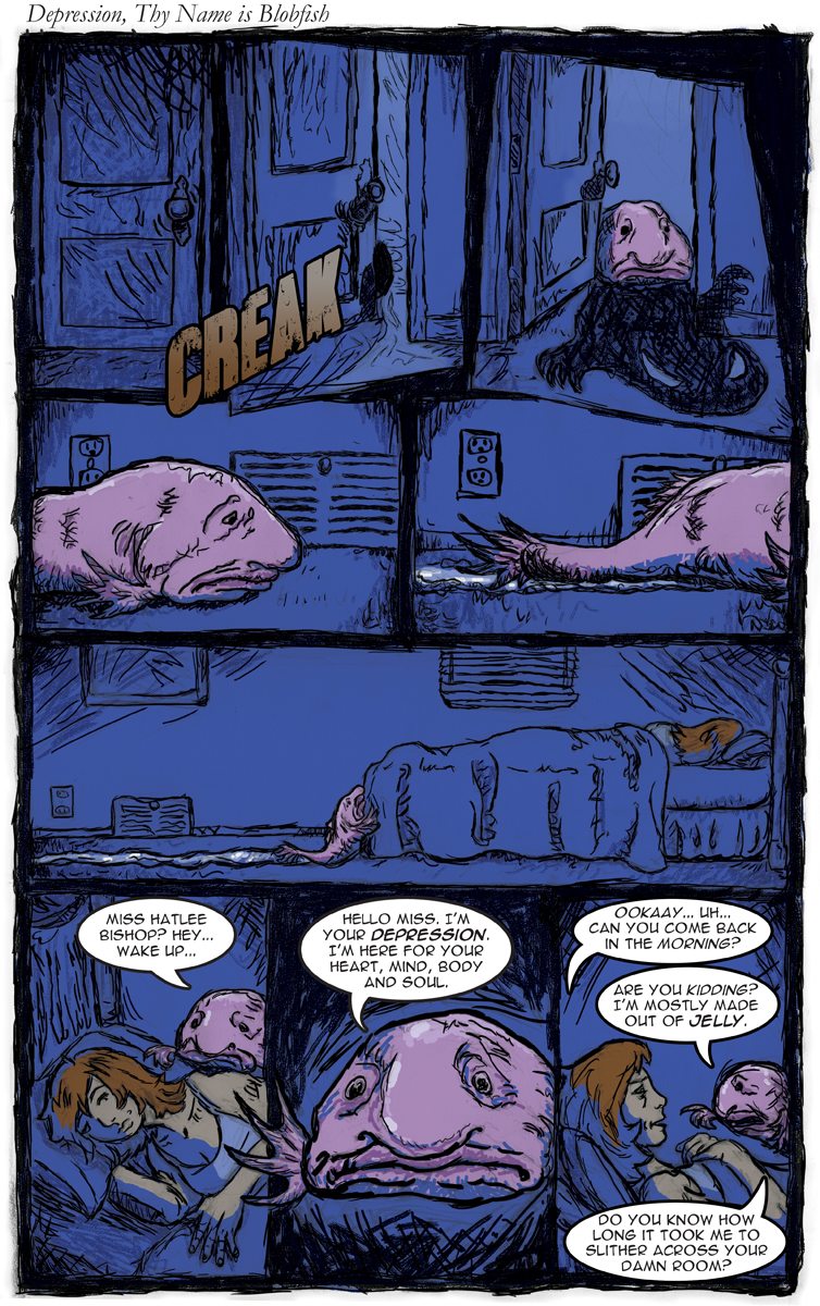 Comic 002 Blobfish