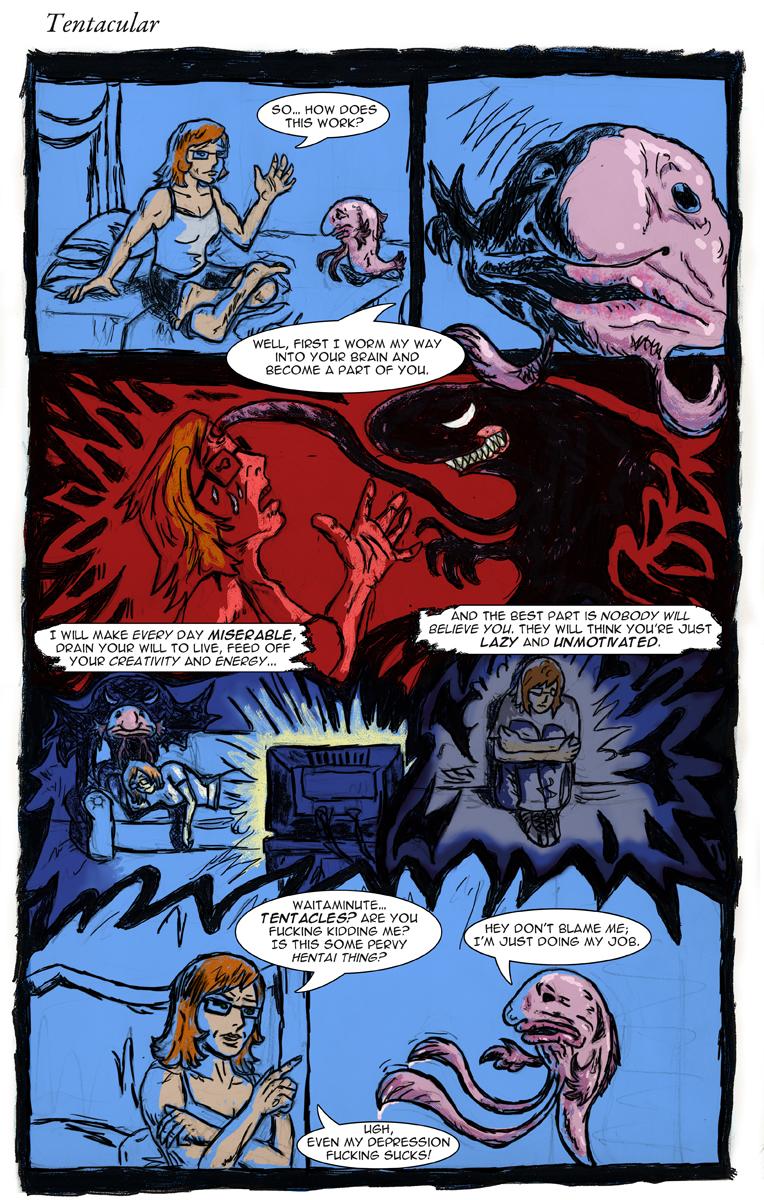 Comic 003 Tentacular