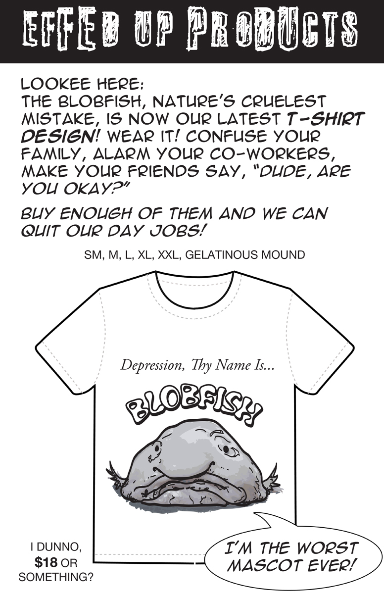 Blobfish T Shirt