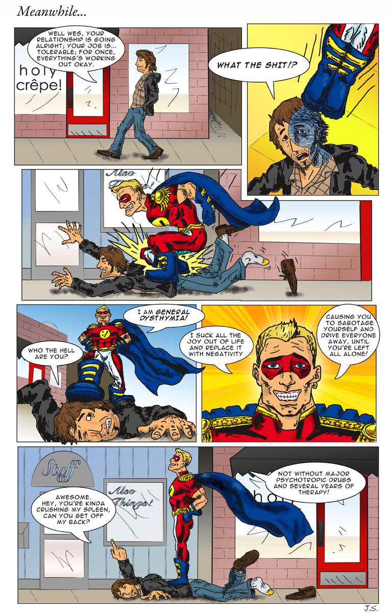 Comic 004 General Dysthymia