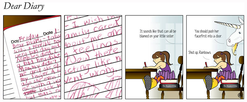 Dear Diary | Effed-Up Comics #6