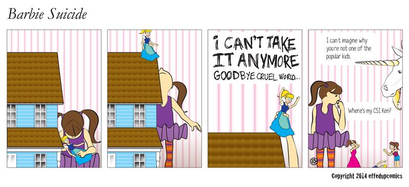 Comic 010 Barbie Suicide